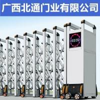 南寧電動伸縮門,不銹鋼伸縮門安裝就找北通門業