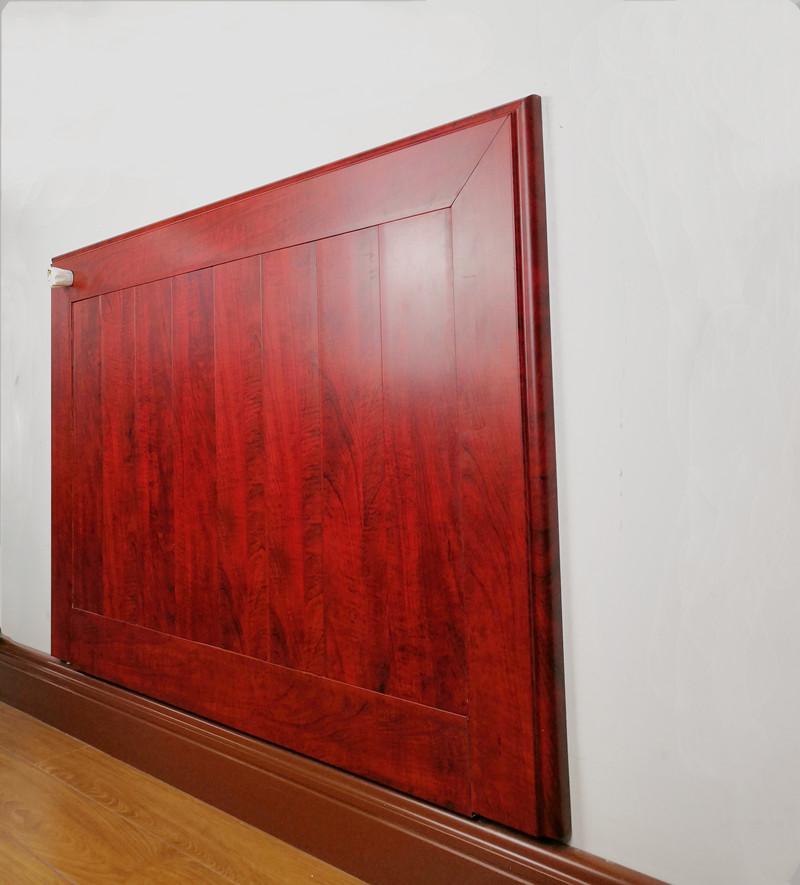 银屋墙面装饰板暖气片将供暖隐藏在墙面装饰中家用供暖方式