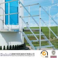 厂家直供铝合金风塔平台与风塔梯 铝合金工作平台梯