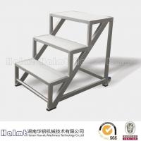 华铝机械供应铝合金踏步梯 登高梯 工作梯