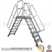 铝合金跨线桥 流水线跨梯 铝跨平台梯