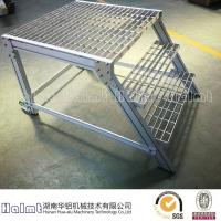供应铝合金踏台 铝合金登高梯 活动踏台