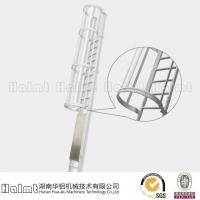 华铝机械供应铝合金固定梯 直梯 直爬梯 护笼直梯