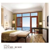 系统窗生产厂家-南京皇朝家居-120扇纱一体门系列