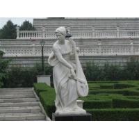 旭楓雕塑 供應漢白玉石雕 石雕人物 石材雕塑廠