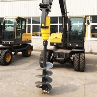 各種型號挖機改螺旋鉆機小型旋挖鉆機鉆電線桿樁