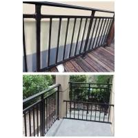 不锈钢、镀锌钢楼梯护栏、阳台栏杆、空调栏杆、外墙栏杆