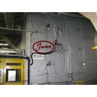 上门测量安装 节为刚性保温套  刚性防火罩