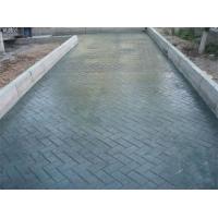 潞城市仿彩石印花地坪 仿彩砖印纹地坪地面铺装新材料