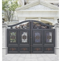 南京庭院大门-【开龙门】铝艺