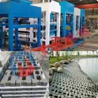 供應5-15型水泥免燒磚機 全自動液壓水泥護坡磚機
