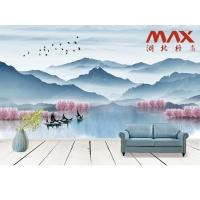 碼尚電視背景墻個性創意壁紙臥室客廳新中式藝術墻紙定制壁畫