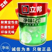 上海立邦净味120五合一水性木器清漆永八建材批发