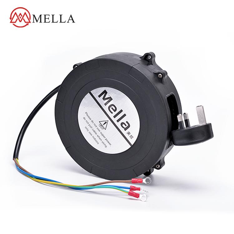 自動伸縮限位電纜盤醫療器械真空吸塵器延長線3芯電源線