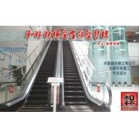 不搭建脚手架扶梯加装不锈钢安全防护栏