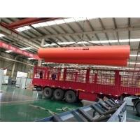 隧道逃生管道橘红色dn800大口径塑料管超高分子逃生管