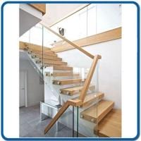 钢木;爬梯玻璃楼梯图 设计效果图 实拍图