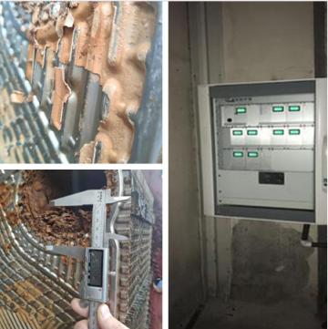 工業線圈式電子除垢器應用