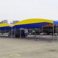 衡阳市珠晖区仓库遮雨推拉棚大型遮阳雨蓬