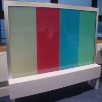 彩色调光玻璃 颜色多样可定制 PDLC高透品质
