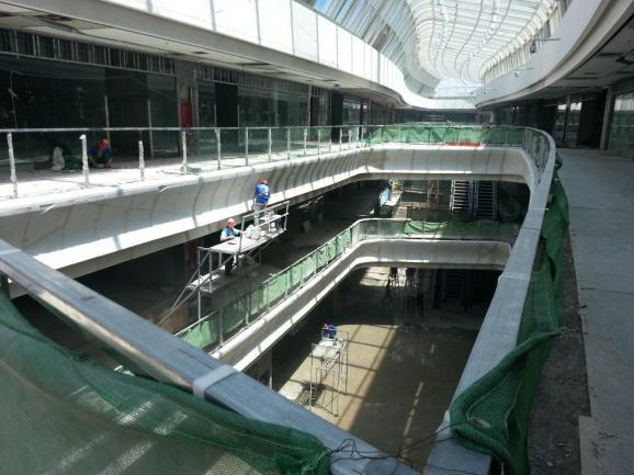 雄安新區GRG商場攔河材料,GRG高強石膏材料