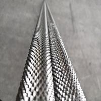青山304不锈钢拉花棒 303不锈钢圆棒加工拉直纹 滚花棒