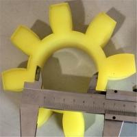 河北联轴器缓冲垫 水泵对轮梅花垫 橡胶梅花垫