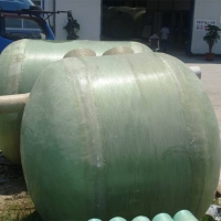 1-100立方米玻璃钢化粪池 家用小型三级净化农村污水改
