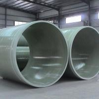 玻璃钢夹砂污水处理管道 通风管道