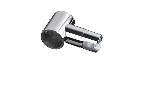 广州淋浴房玻璃固定杆/圆管连接件不锈钢五金配件/庄仕五金