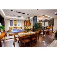 摩卡生活餐厅一桌四椅 108型