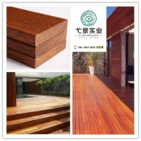 菠萝格景观地板木防腐木材供应