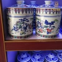 定制陶瓷储存罐膏方罐 陶瓷密封罐