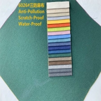 沙发布麻料  沙发布料 制造工厂 麻布染色沙发软床布