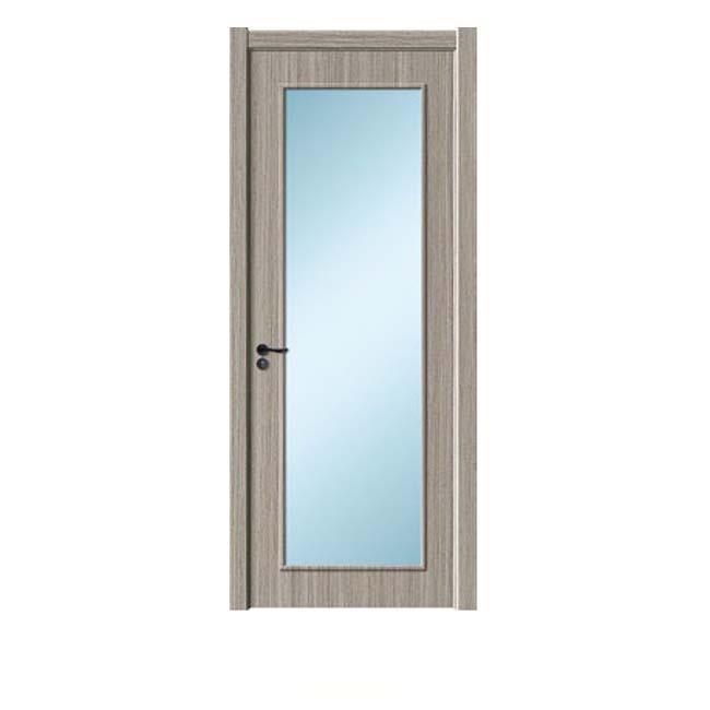 轻奢木门玻璃1