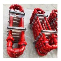 高壓環形管匯-10型長半徑環形管匯-活動彎頭連接高壓環形管匯