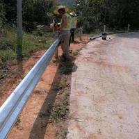 高速公路波形護欄 鄉村防撞欄桿 雙波護欄板送貨上門