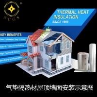别墅屋顶气泡保温材料建筑用保温隔热材铝箔气垫