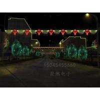 LED过街灯,最新跨街灯样式,led灯光隧道图片