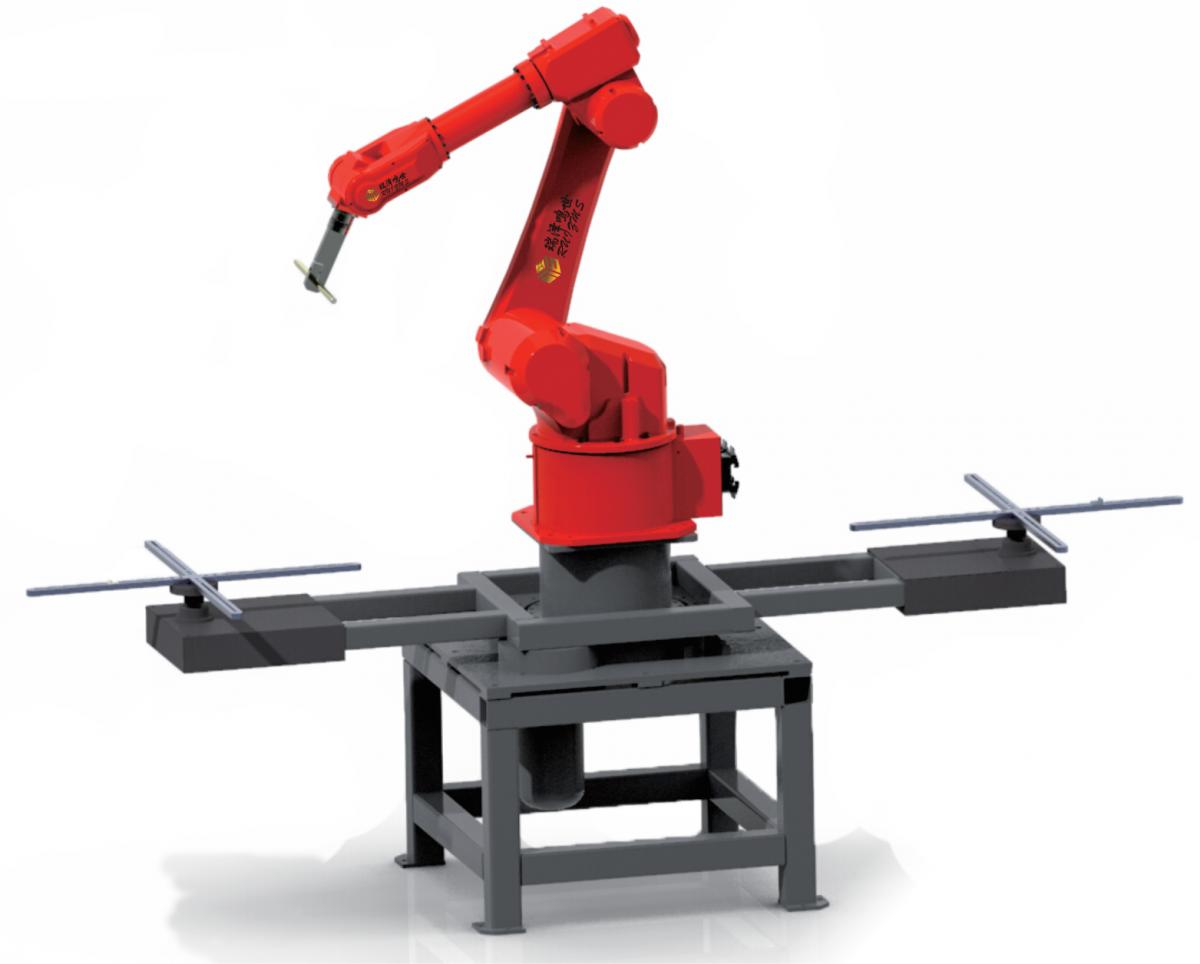七軸聯動機械手沖壓工業機器人全自動機械手