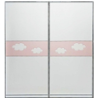 浙江衣柜门厂家-旺佳门业--儿童卡通系列