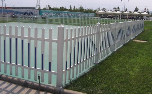 pvc塑钢社区花坛护栏网