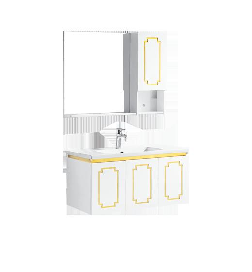 法恩莎FPG3685-B  PVC浴室柜