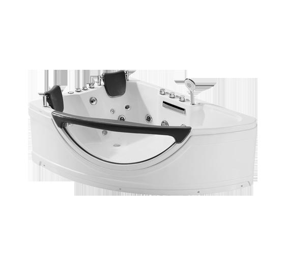 法恩莎FC001Q-1Q/FC002Q三角型单裙边按摩浴缸
