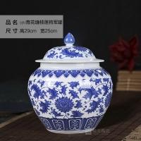 陶瓷罐 陶瓷药罐 陶瓷蜂蜜罐 陶瓷膏方罐