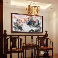 景德镇墙面 壁画陶瓷定制
