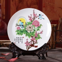 陶瓷纪念盘挂盘 星太陶瓷