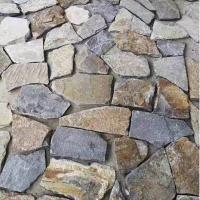 夏日热销 灰色片石 深灰色片岩石 灰色板岩片石碎拼