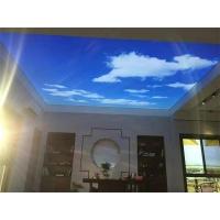 软膜天花做的蓝天白云吊顶