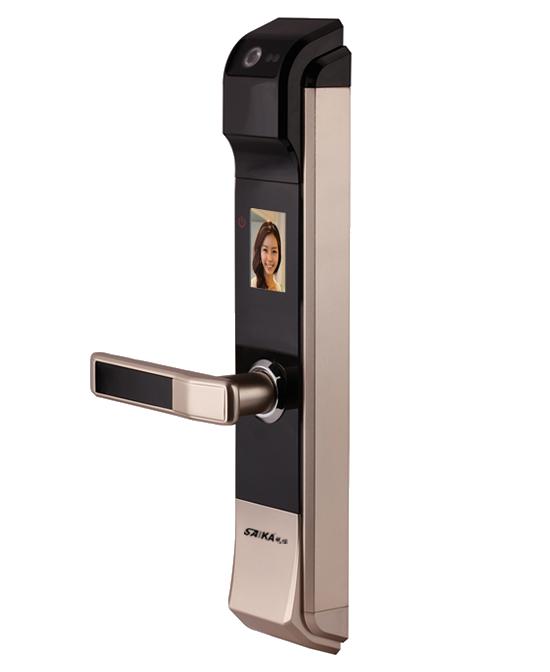 SAIKA視佳智能人臉識別安全鎖K818